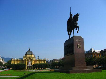 Zagreb, King Tomislav Place
