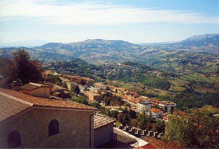 View on San Marino