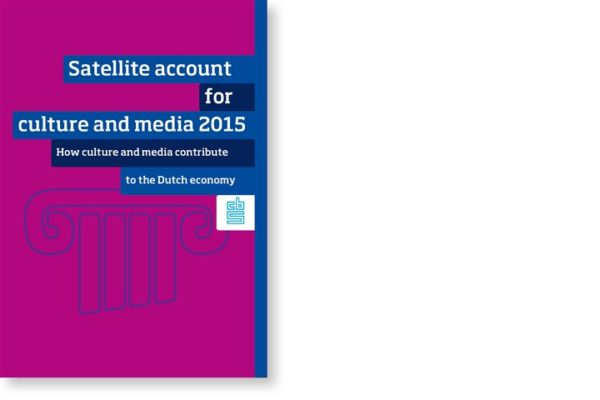 Dutch satellite account for culture and media
