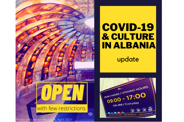 Updated Covid-19 report for Albania