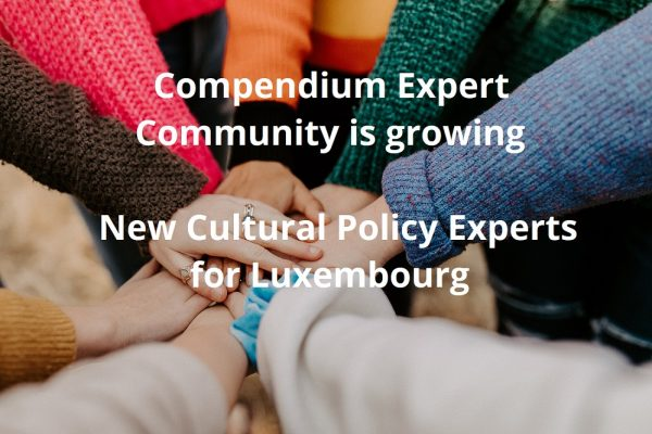 New Cultural Policy Experts for Luxembourg
